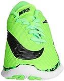 Nike Free Hypervenom (GS), Jungen Fußballschuhe, Grün (Green Strike/Black-White-Black), 38.5 EU - 4