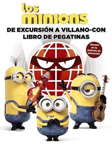 Los Minions. De Excursión A Villano-Con. Libro De Pegatinas (Literatura Infantil (6-11 Años) – Gru Y Los Minions)