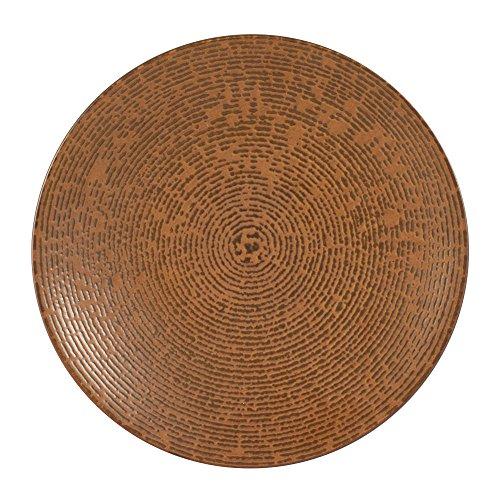 Table Passion - Assiette à dessert artist cuivre 20.5 cm (lot de 6)