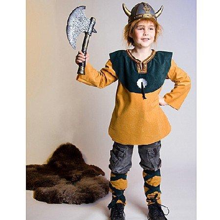 Kostüm Wikinger Wiki Gr. 140/152 Oberteil und - Wikinger Kostüme