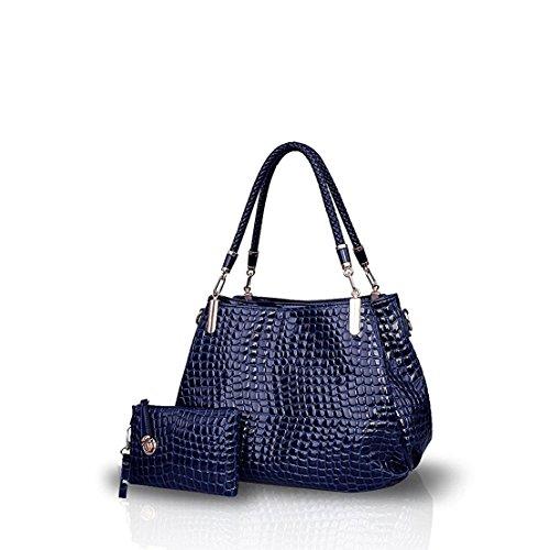 Bilis, Borsa a mano donna large, Navy Blue (blu navy) - Bilis-687 Navy Blue