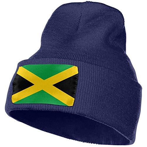 Adgjhbvn Jamaica Flag Men Women Beanies Wool Baggy Slouchy Knit Skull Beanie Unisex Hip Hop Caps Hip Hop-Mützen Baseballmützen