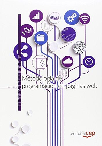Metodología de programación en páginas web. Cuaderno de ejercicios