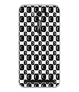 PrintVisa Booty Check High Gloss Designer Back Case Cover for Asus Zenfone 2 Laser ZE550KL (5.5 Inches)