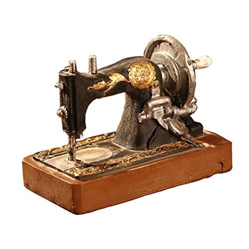 Healifty Decoración Mesa Vintage Modelo Máquina
