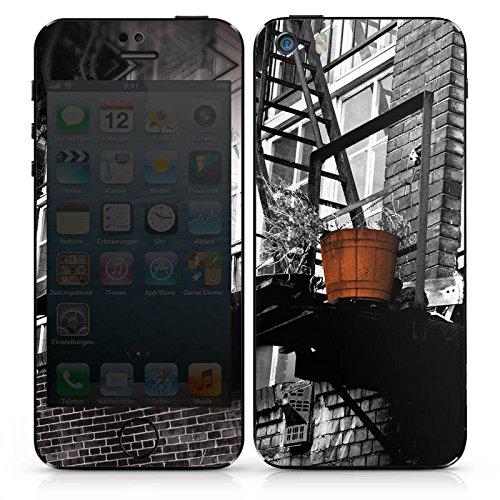 Apple iPhone 5s Case Skin Sticker aus Vinyl-Folie Aufkleber Berlin Fotografie Kunst DesignSkins® glänzend