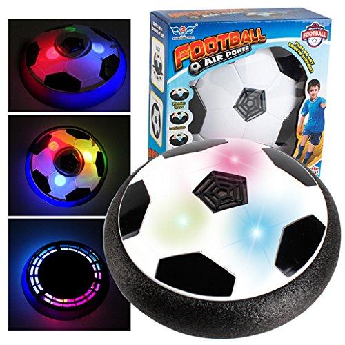 Senoow LED Licht Hover Ball Floating Hockey Fußball 2in1 Für Indoor Outdoor Jungen Mädchen