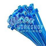 Fluorescente color nailon plástico Bridas - seleccione su Color, tamaño, cantidad