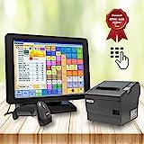 All-In-One Kassensystem FEC 745i 2.0 GHz mit Kassensoftware Bonosoft für Einzelhandel