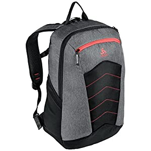 Odlo Active Backpack – Grey melang/Chinese red