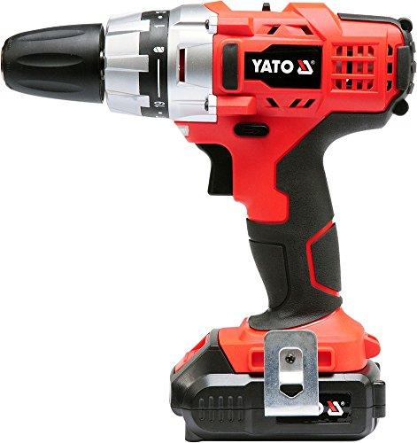 Preisvergleich Produktbild Yato yt-82855Akku-Bohrschrauber 18V Li-Ion Akku