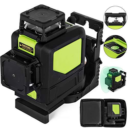 BananaB 902CG grün laser kreuzlinienlaser 3D linienlaser selbstnivellierend 360 Rotary Laser Level baulaser 360° Rotary 8-Linie Linienlaser Tool
