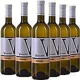 Vipava 1894 Vino bianco Malvazija 2018, (6 x 0,75 l), vino bianco secco raccolto a mano
