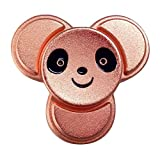 MULGORE Fidget Spinner Hand Spinner Toys Hot Explosion 2017 High Speed 1-5 Min Spins Panda Style Best Novelty Spinning Top for Made with Premium Quality (or rose)