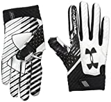Under Armour Spotlight Amercian Football Receiver Handschuhe - schwarz/weiß Gr. XL