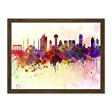 Doppelganger33 LTD Painting Cityscape Paint Splash Skyline