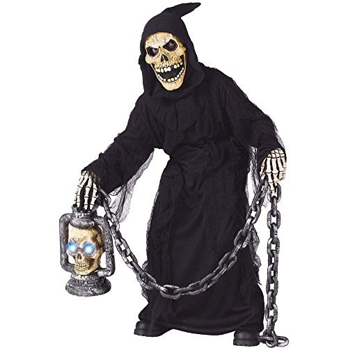 Grave Ghoul Child 8-10 - Kinder Grave Ghoul Kostüm