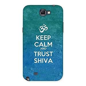 Cute Trust Shiva Back Case Cover for Galaxy Note 2