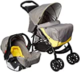 Graco Travel System Mirage + Parent Yellow Grey (Yellow/Gray)