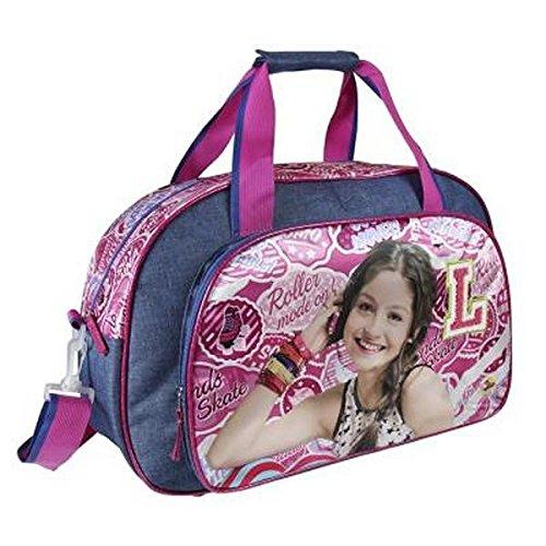 Cerdá Soy Luna Bolsa de Deporte Infantil, 50 cm, Azul