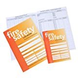 Janitorial Express EB090-A4 Fire Safety Log Book