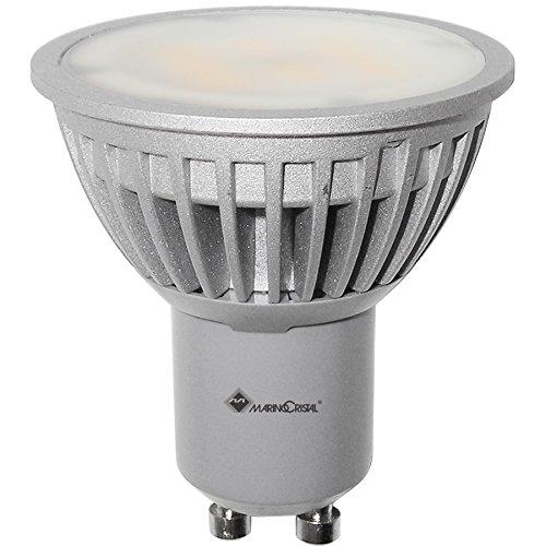LAMPADA DICROICA LED M6 GU10 6W LUCE BIANCHISSIMA 6000K 120° 350 LUMEN