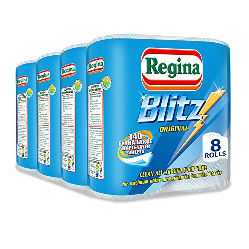 Image of Regina Blitz Household Towels - Pack of 4, Total 8