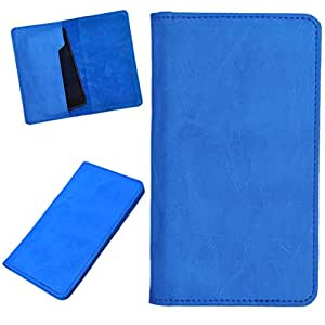 DCR Pu Leather case cover for Sony Xperia ZL (sky blue)