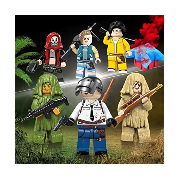 YVSoo Figuras de Juguete Playsets Personas Figuras de Acción Juegos de Construcción Muñecos Juguete para Niños Bebé 4