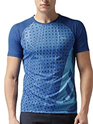 2GO Running Round Neck Half Sleeves Polyester T-Shirt