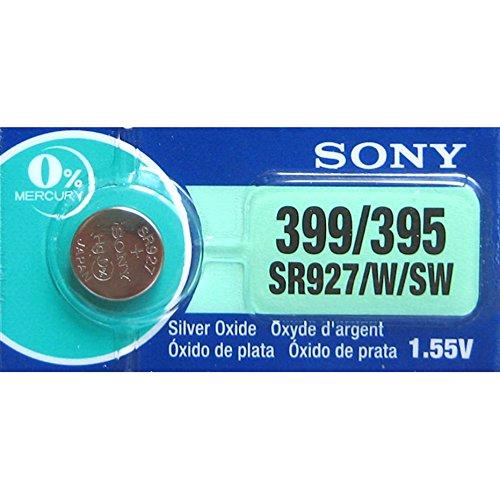 Sony Knopfzelle Sony 399 SR927W SB-BP Silberoxyd, 1,55V
