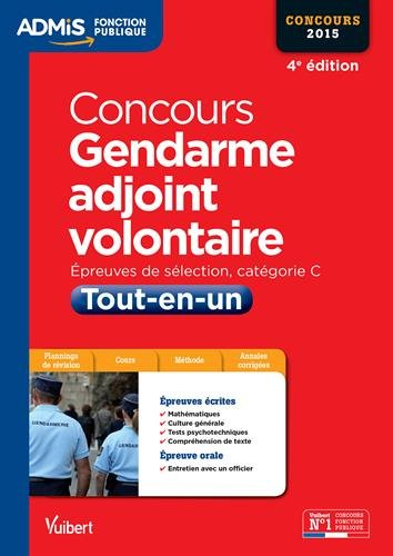 Concours Gendarme adjoint volontaire - T...