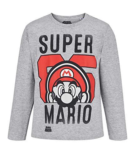 SUPER MARIO BROS Jungen T-Shirt 5246, Grau Gris, 12 Jahre Preisvergleich