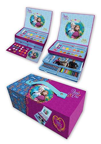 Arditex - 006483 - Coffret De Coloriage - Disney - Frozen - la Reine Des Neiges - 26 x 13.5 x 9.4 cm