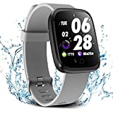 Verpro Smart Watch, Waterproof Fitness Activity Tracker with Heart Rate Monitor, Wearable Oxygen