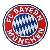FC Bayern München Logo XXL Strandtuch (blau/rot/weiß)