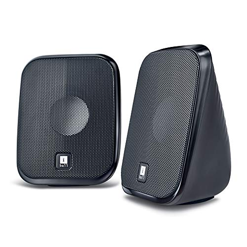 iBall Decor 9-2.0 Computer Multimedia Speakers (Black)