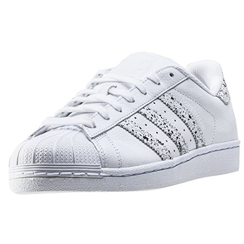 adidas Superstar, Chaussures de Basketball Femme Blanc
