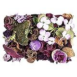 Edel-Potpourri, Deko-Set, 200 g, verschiedene Blüten, Zweige, Zapfen, Deko-Elemente (Lavendel)