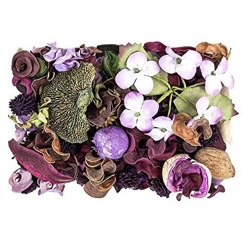 Edel-Potpourri   Deko-Set   200 g   verschiedene duftende Blüten, Zweige, Deko-Elemente (Lavendel) -
