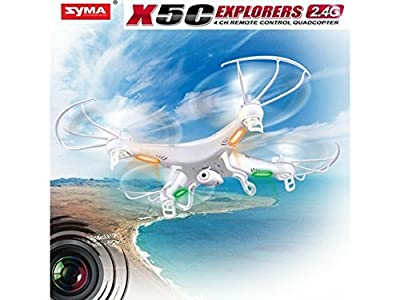 Newest Syma X5C 2.4GHz 4CH RC Quadcopter + 2MP Camera + 3 Blade Propeller Gift + 2GB TF Card