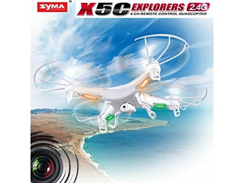 51%2BM6R1PEeL - Syma X5C-1 2.4G HD Camera RC Quadcopter RTF RC Helicopter with 2.0MP Camera
