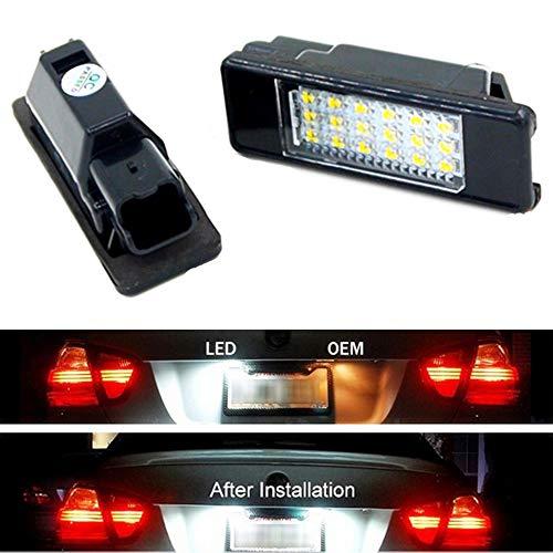 HUAYIN 2X Auto Kennzeichenbeleuchtung Nummernschilder Licht -
