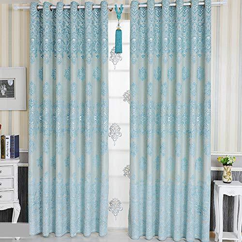 MENGXIANG Chenille modernen Vorhang Wohnzimmer Schlafzimmer Stoff Vorhang Verdunkelungsvorhang 117 * 229cm