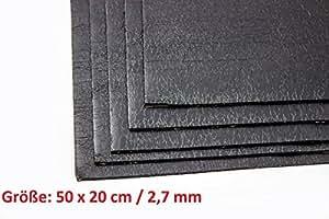 TCH lot aDM tapis de bitume aDM tapis autocollant d'insonorisation 50 x 20 cm (25 adhésifs de matériaux d'isolation türdämmung isolation autohifi dimensions : -carhifi-motif oldtimer
