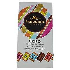 Idea Regalo - PERUGINA GRIFO cioccolatini assortiti al latte, fondente e fondente 70% cacao - 4 pezzi da 200 g [800 g]
