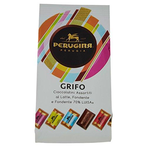 PERUGINA GRIFO Cioccolatini assortiti al latte, fondente e fondente 70% cacao 200g
