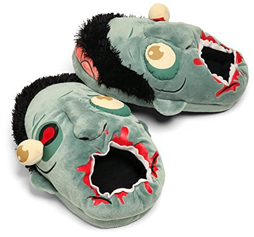 Peluche Zombie chaussons