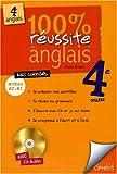 Telecharger Livres 100 de reussite en anglais 4eme avec CD Audio (PDF,EPUB,MOBI) gratuits en Francaise