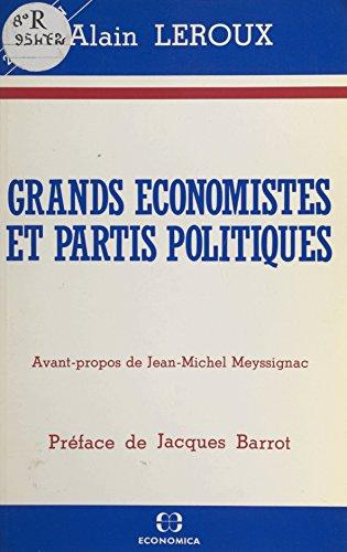 Grands économistes et partis politiques